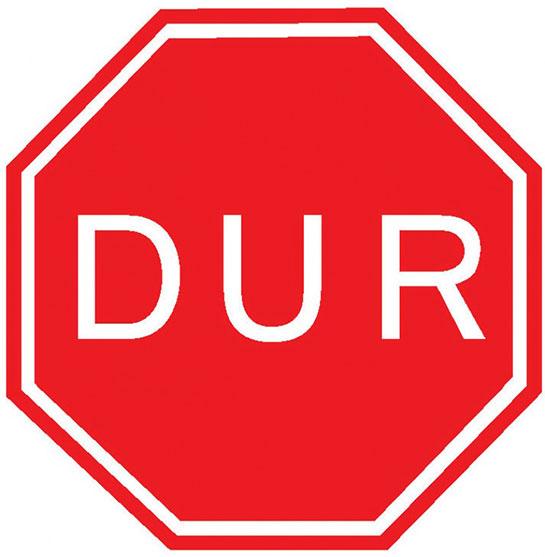 Dur Işareti Levhası Trafik Bilgisi Trafikisaretlerigentr
